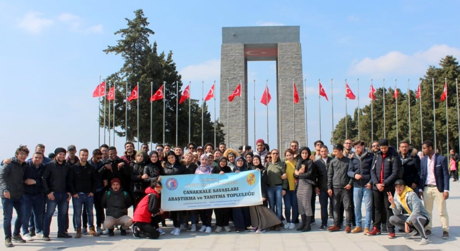 TÖMER Öğrencilerine Yönelik Şehitlik Gezisi Düzenlendi