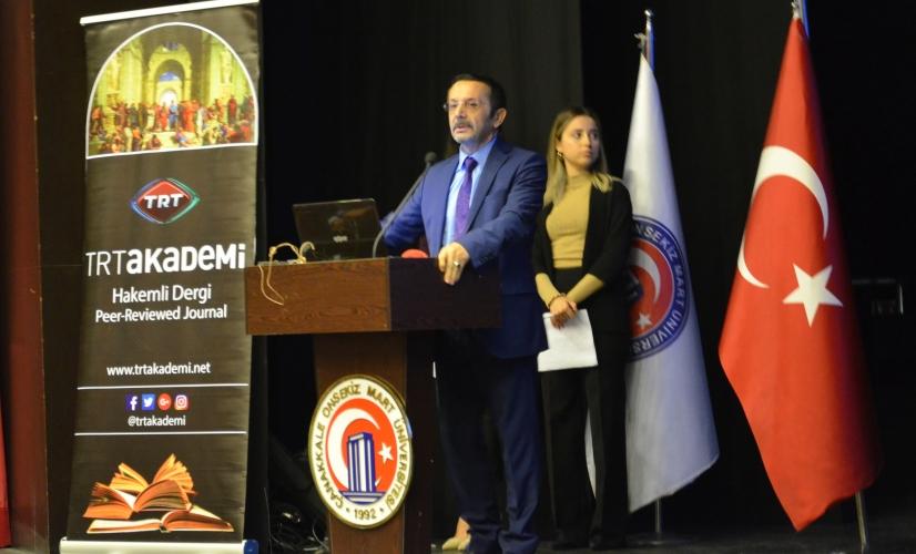 TRT Akademi Atölye Çalışmaları ÇOMÜ'de Gerçekleştirildi
