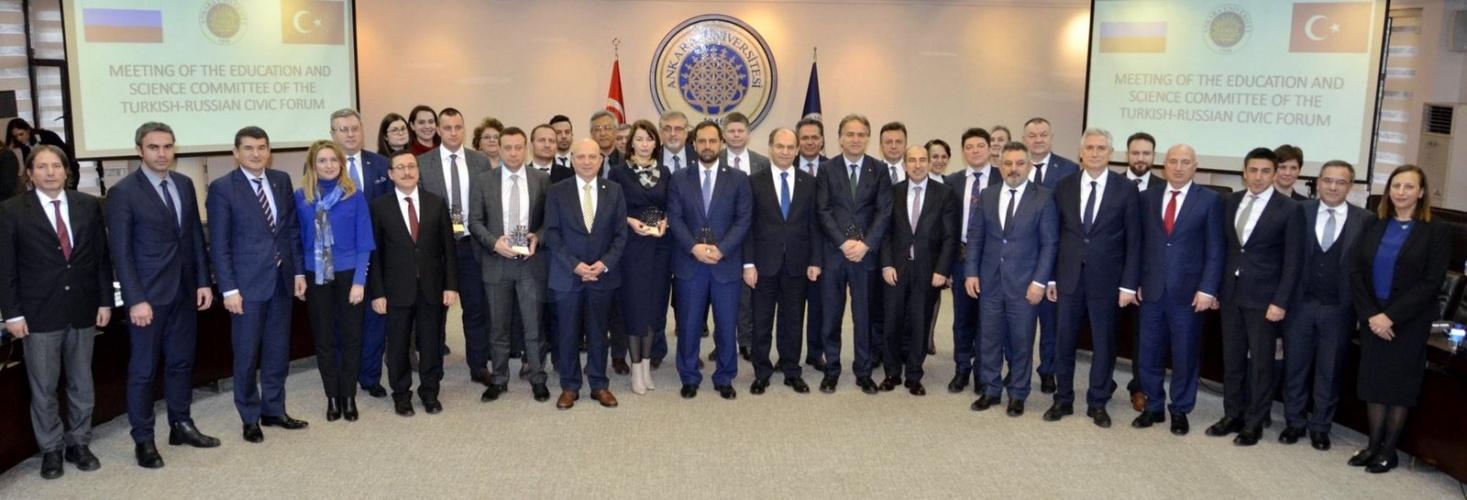 Türk-Rus Toplumsal Forumu'nun Düzenlediği Rektörler Çalıştayı Gerçekleşti