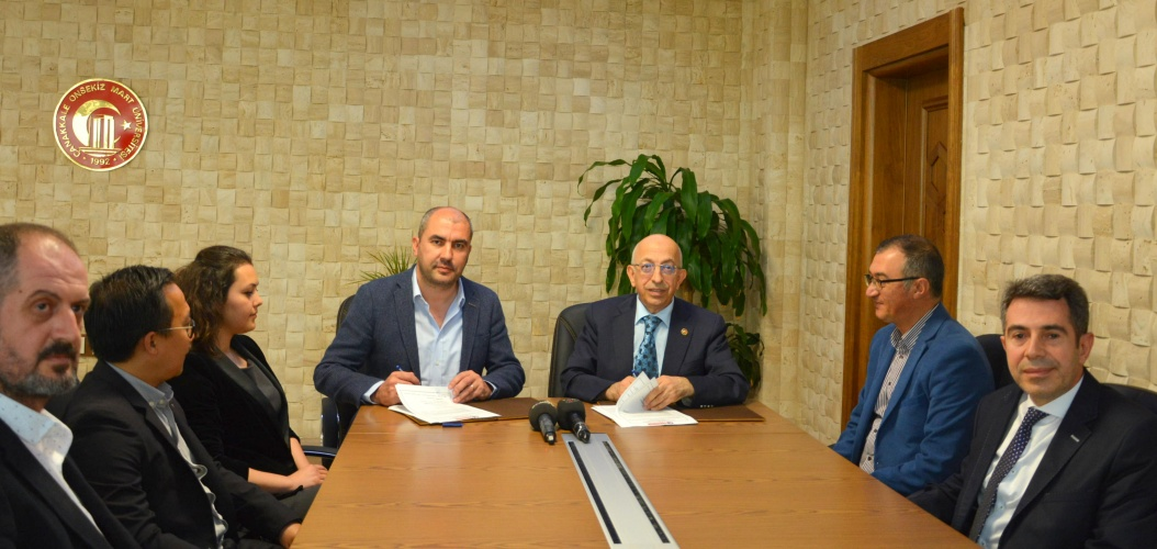 Üniversitemiz ile Dardanel Önentaş Gıda San. A.Ş. arasında İşbirliği Protokolü İmzalandı