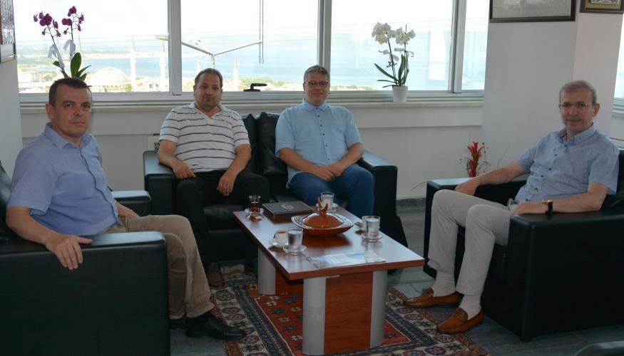 YEE Başkan Danışmanı Kalkan'dan Rektör Yardımcısı Prof. Dr. Bünyamin Bacak'a Ziyaret
