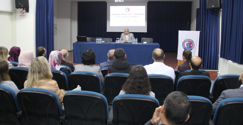 Yenice MYO Akademik Kurul Toplantısı Rektör Prof. Dr. Sedat Murat'ın Katılımıyla Gerçekleşti
