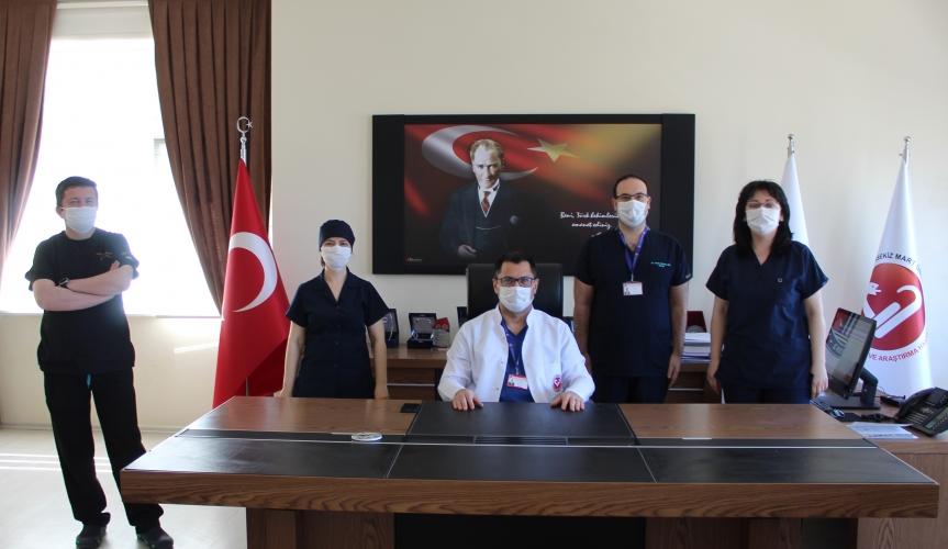 """Çanakkale Onsekiz Mart Üniversitesi Hastanesinden """"Covid-19"""" Hastalarına Sağlık Hizmeti"""