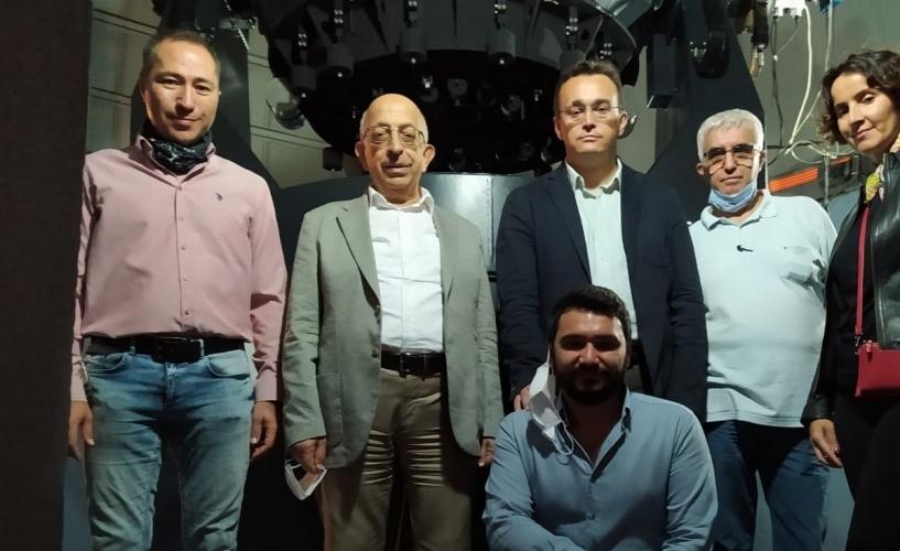 ÇOMÜ Rektörü Prof.Dr.Sedat Murat'tan Astrofizik Araştırma Merkezi ve Ulupınar Gözlemevine Ziyaret