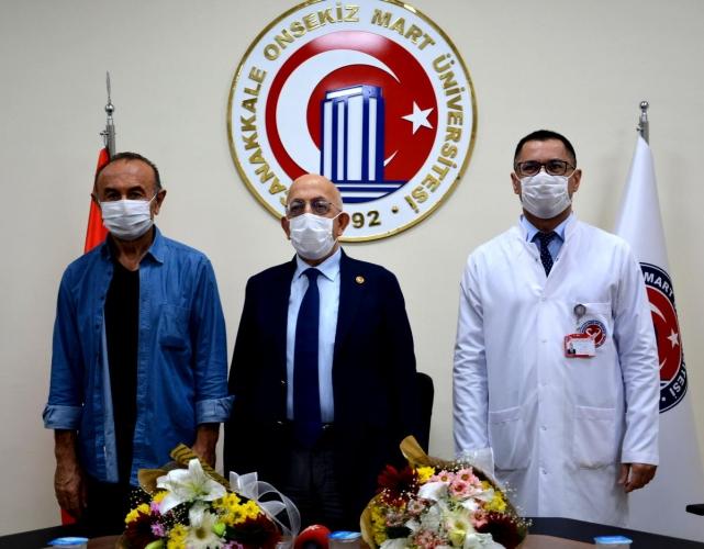 ÇOMÜ Sağlık Uygulama ve Araştırma Hastanesi Başhekimlik Devir Teslim Töreni Gerçekleştirildi