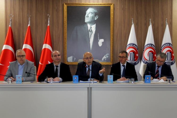 Rektör Prof. Dr. Sedat Murat ÇOMÜ Araştırma Merkezleri Müdürleriyle Bir Araya Geldi