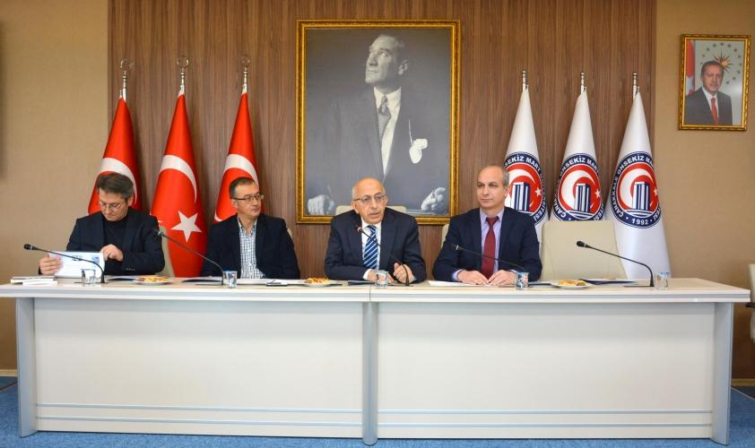 ÇOMÜ Rektörü Prof. Dr. Sedat Murat Dergi Editörleriyle Bir Araya Geldi