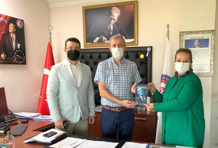 Uluslararası Alija Düşünce Derneğinden ÇOMÜ Rektör Yardımcısı Prof. Dr. Bünyamin Bacak'a Ziyaret