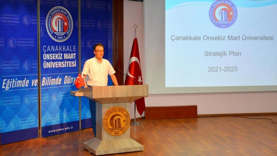 Üniversitemiz Stratejik Planı (2021-2025) Tamamlandı