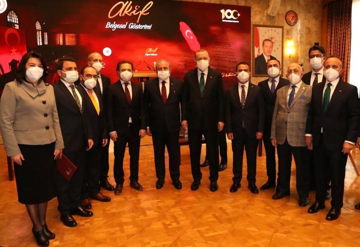 100. Yılında İstiklal Marşı Sergisi'nin Açılış Programı TBMM'de Gerçekleşti