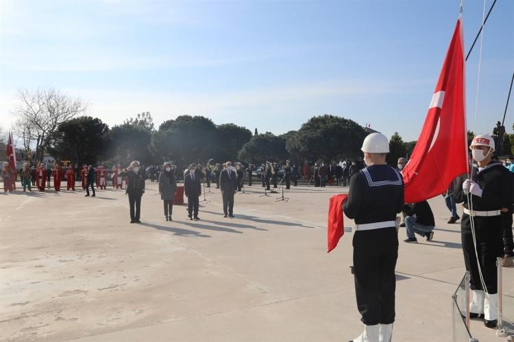 Çanakkale Deniz Zaferi'nin 106. Yıldönümü Açılış Töreni Çimenlik Kalesinde Yapıldı