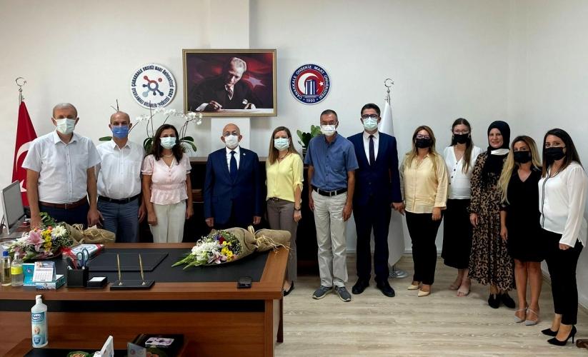 Çanakkale Uygulamalı Bilimler Fakültesi Dekanlık Devir Teslim Töreni Gerçekleştirildi
