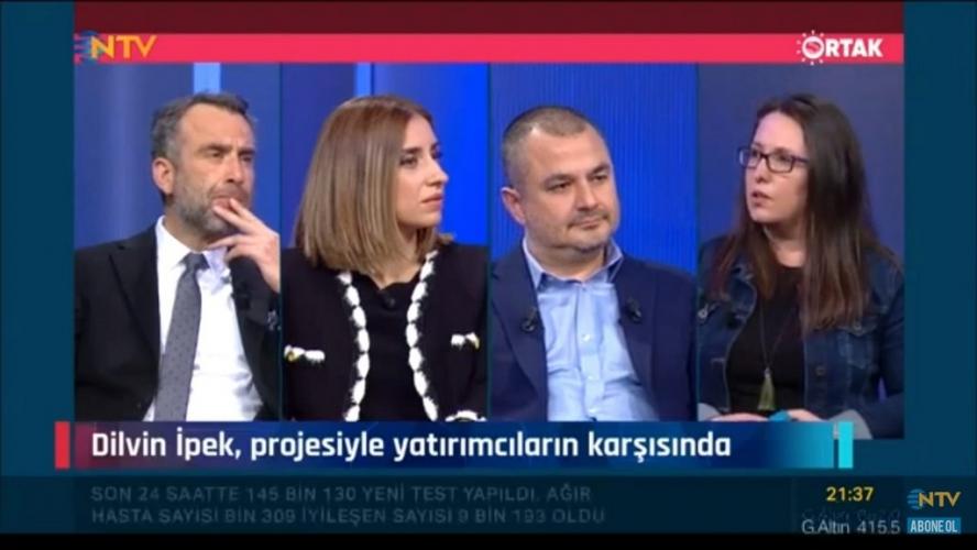 """ÇOMÜ'lü Girişimciler NTV """"Ortak"""" Programında"""