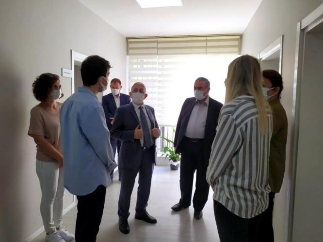 ÇOMÜ Rektörü Prof. Dr. Sedat Murat'tan YEDAM'e Ziyaret