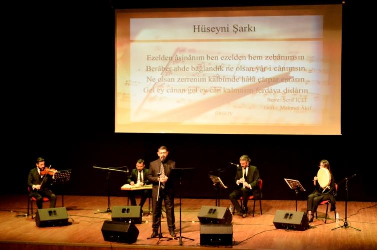 İstiklal Marşının Kabulü ve Mehmet Akif Ersoy'u Anma Günü Özel Konseri Gerçekleştirildi