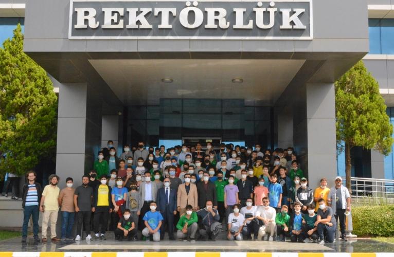 İTO Marmara Anadolu İmam Hatip Lisesi ÇOMÜ'yü Ziyaret Etti