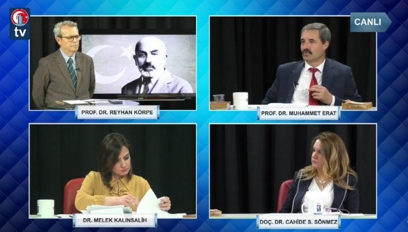 Mehmet Âkif Ersoy ve İstiklâl Marşı'nın Kabulü TV Programı Gerçekleştirildi
