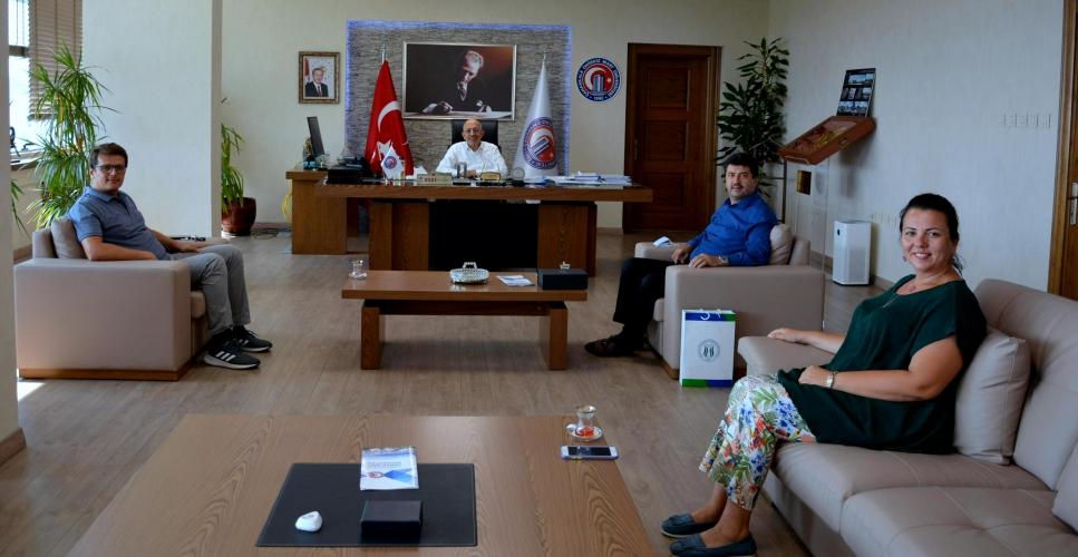 Sakarya Uygulamalı Bilimler Üniversitesi Rektörü'nden ÇOMÜ Rektörü Prof. Dr. Sedat Murat'a Ziyaret