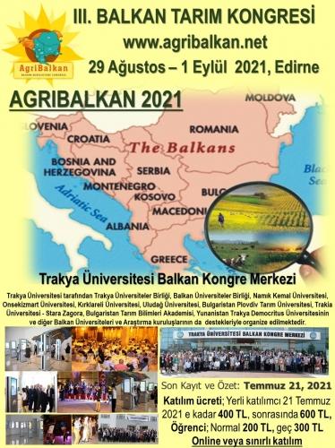 TÜB Organizasyonunda III. Balkan Tarım Kongresi