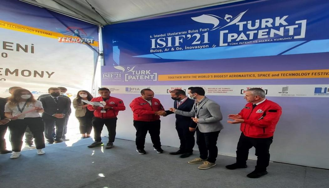 ÇOMÜ, ISIF'21 Buluş Fuarından 5 Madalya İle Döndü