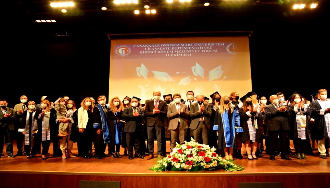 Lisanüstü Eğitim Enstitüsü 1. Dönem Mezuniyet Töreni