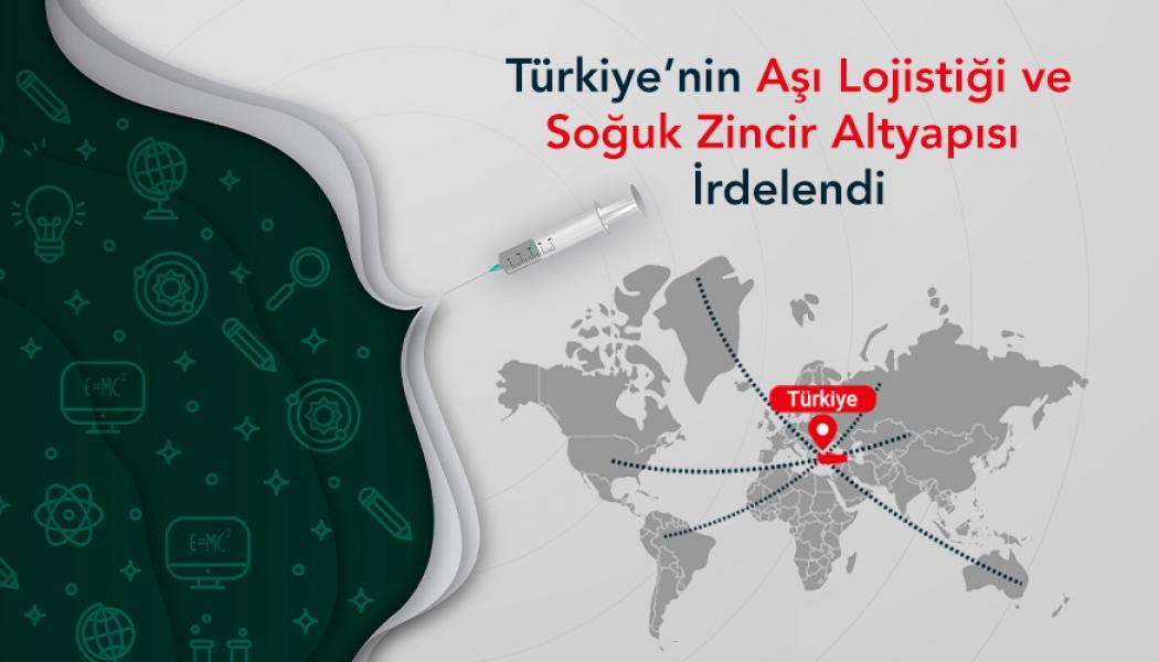 Türkiye'nin Aşı Lojistiği ve Soğuk Zincir Altyapısı İrdelendi