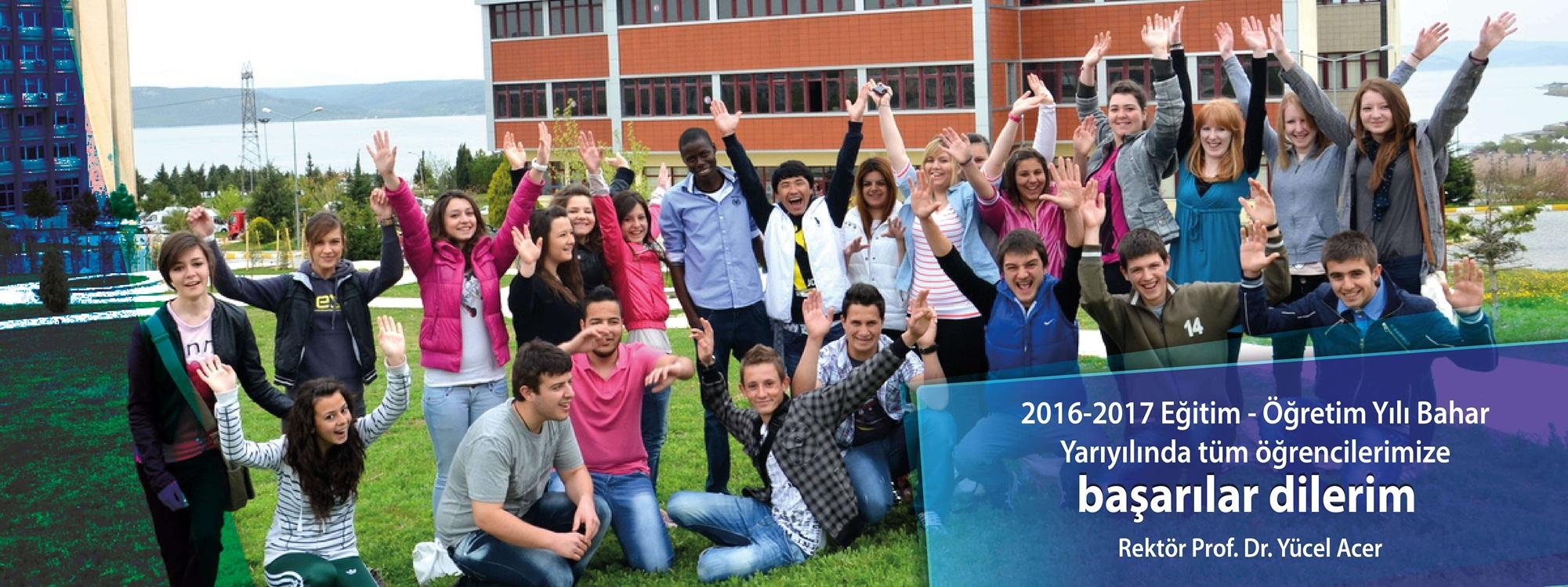 2016-2017 Eğitim Öğretim Yılı Bahar Yarıyılı Mesajı