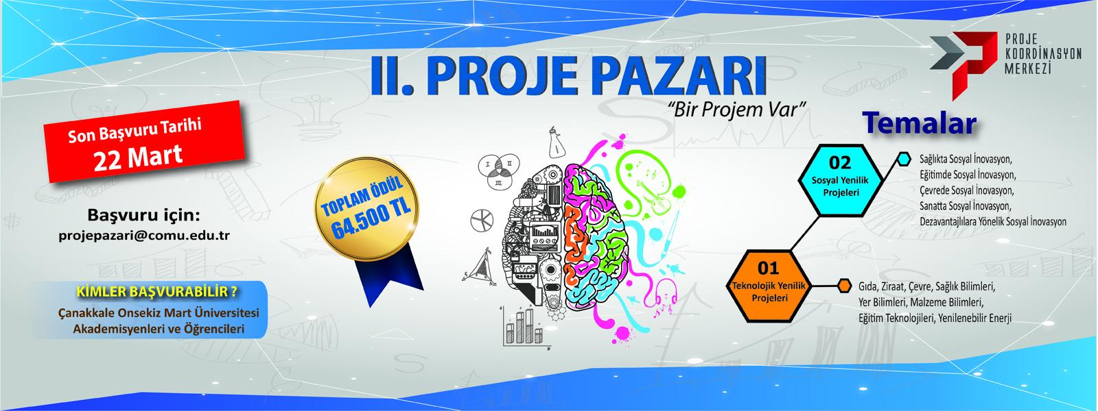 2. Proje Pazarı