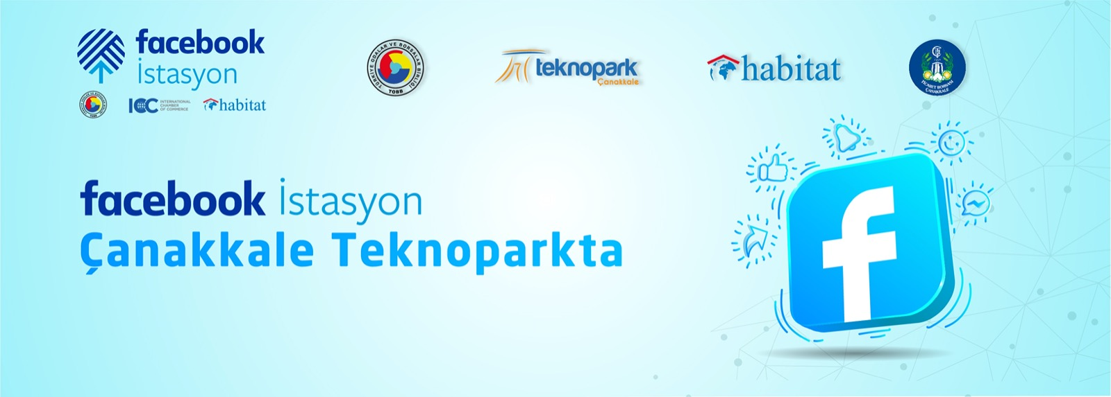 Facebook İstasyon Çanakkale Teknopark'ta